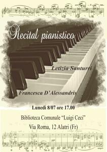 Recital Pianistico Alatri
